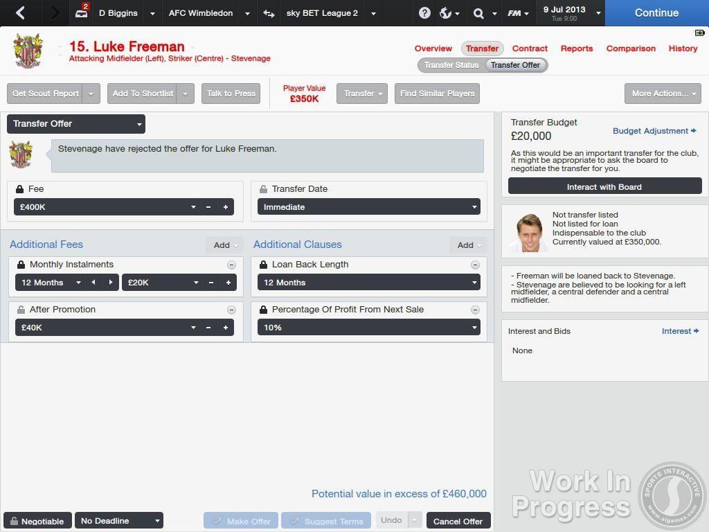 Přes 1000 vylepšení nabídne Football Manager 2014 85897