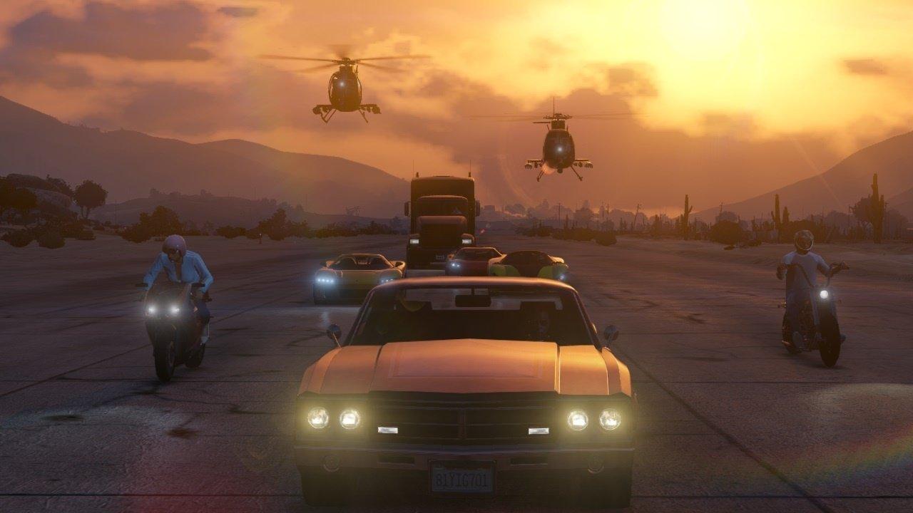 Vůbec první záběry z Grand Theft Auto Online 85915