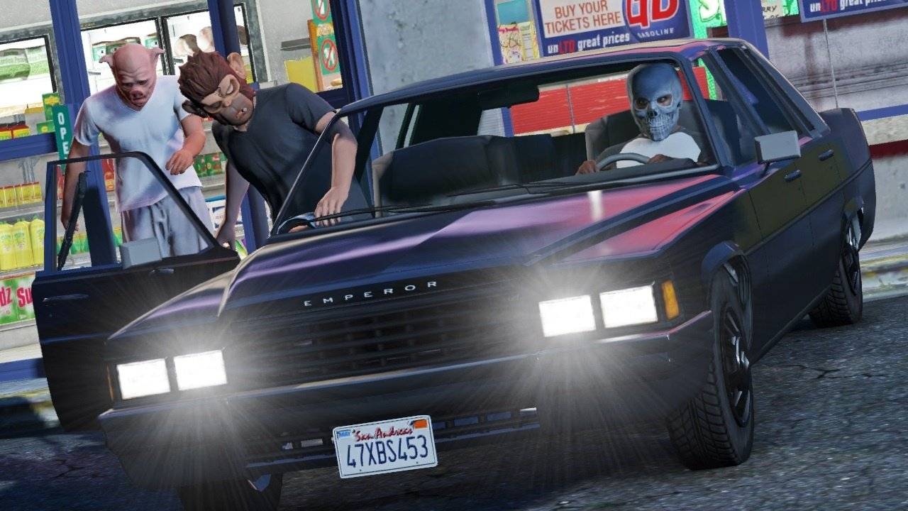 Vůbec první záběry z Grand Theft Auto Online 85916