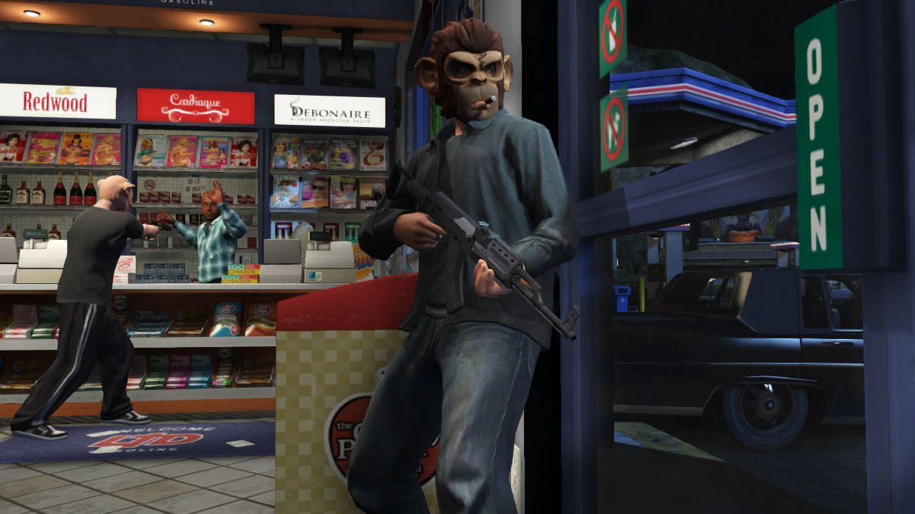 Vůbec první záběry z Grand Theft Auto Online 85924