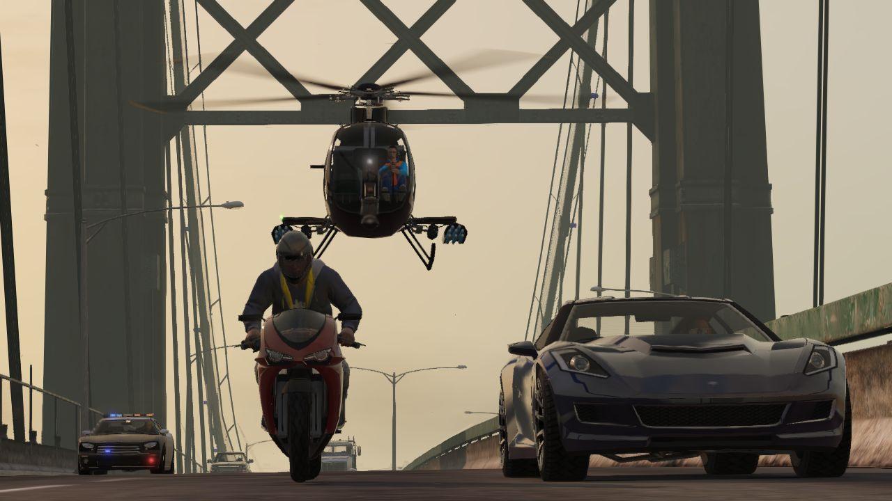 Vůbec první záběry z Grand Theft Auto Online 85925