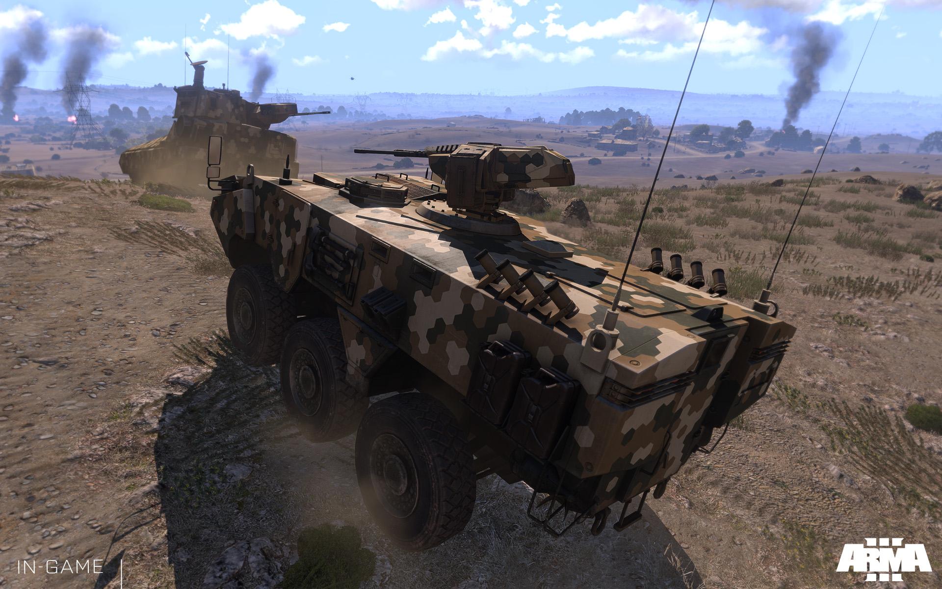 Uživatelské scénáře se v Armě 3 sdílí přes Steam Workshop 85931