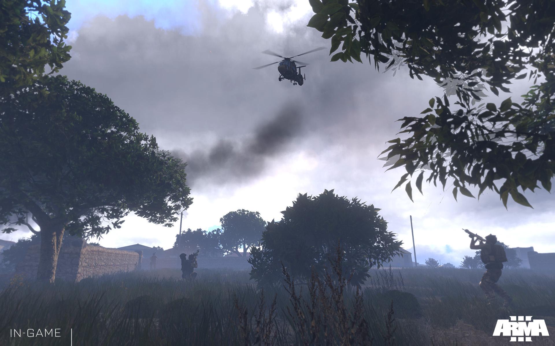 Uživatelské scénáře se v Armě 3 sdílí přes Steam Workshop 85938