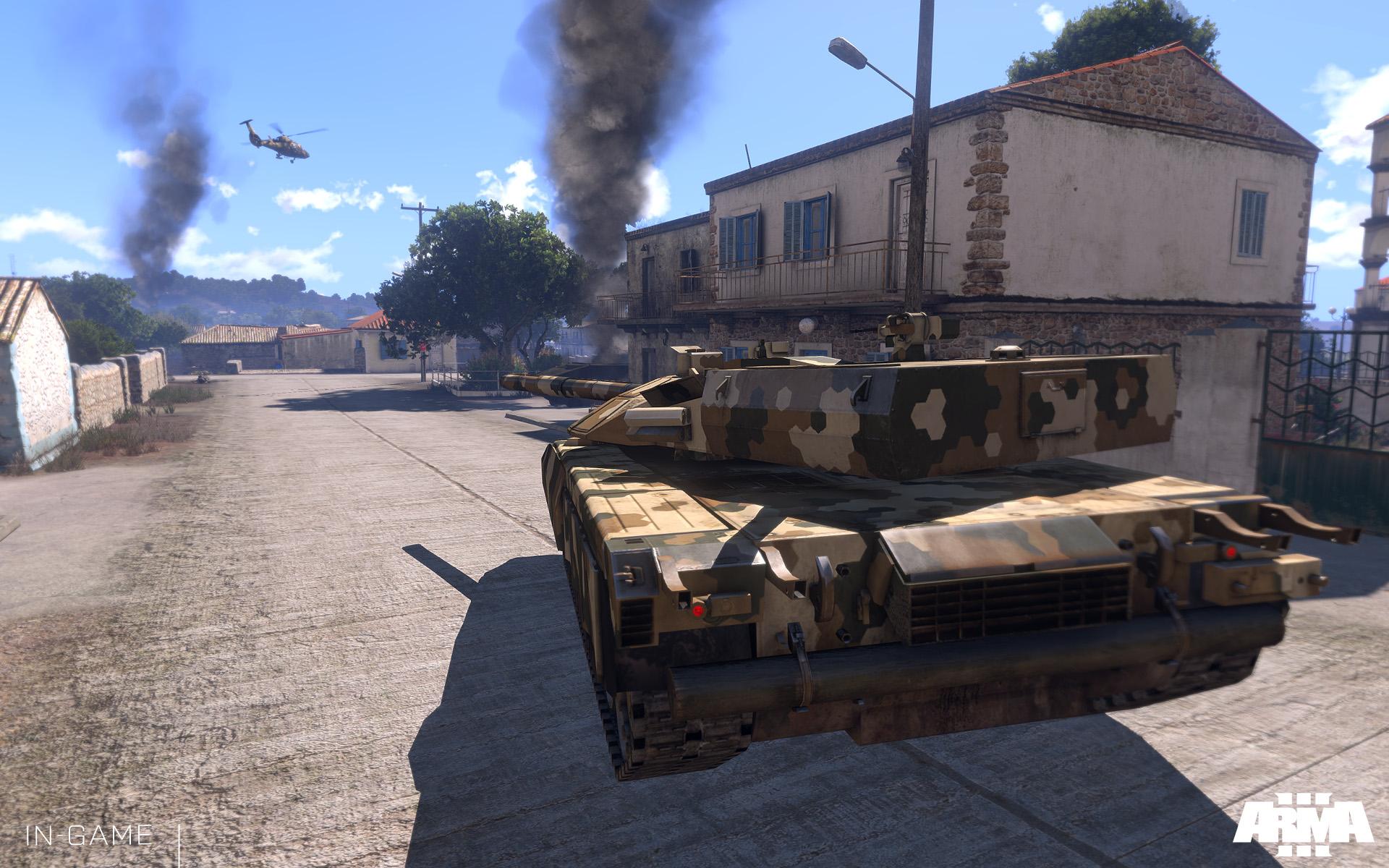 Uživatelské scénáře se v Armě 3 sdílí přes Steam Workshop 85939