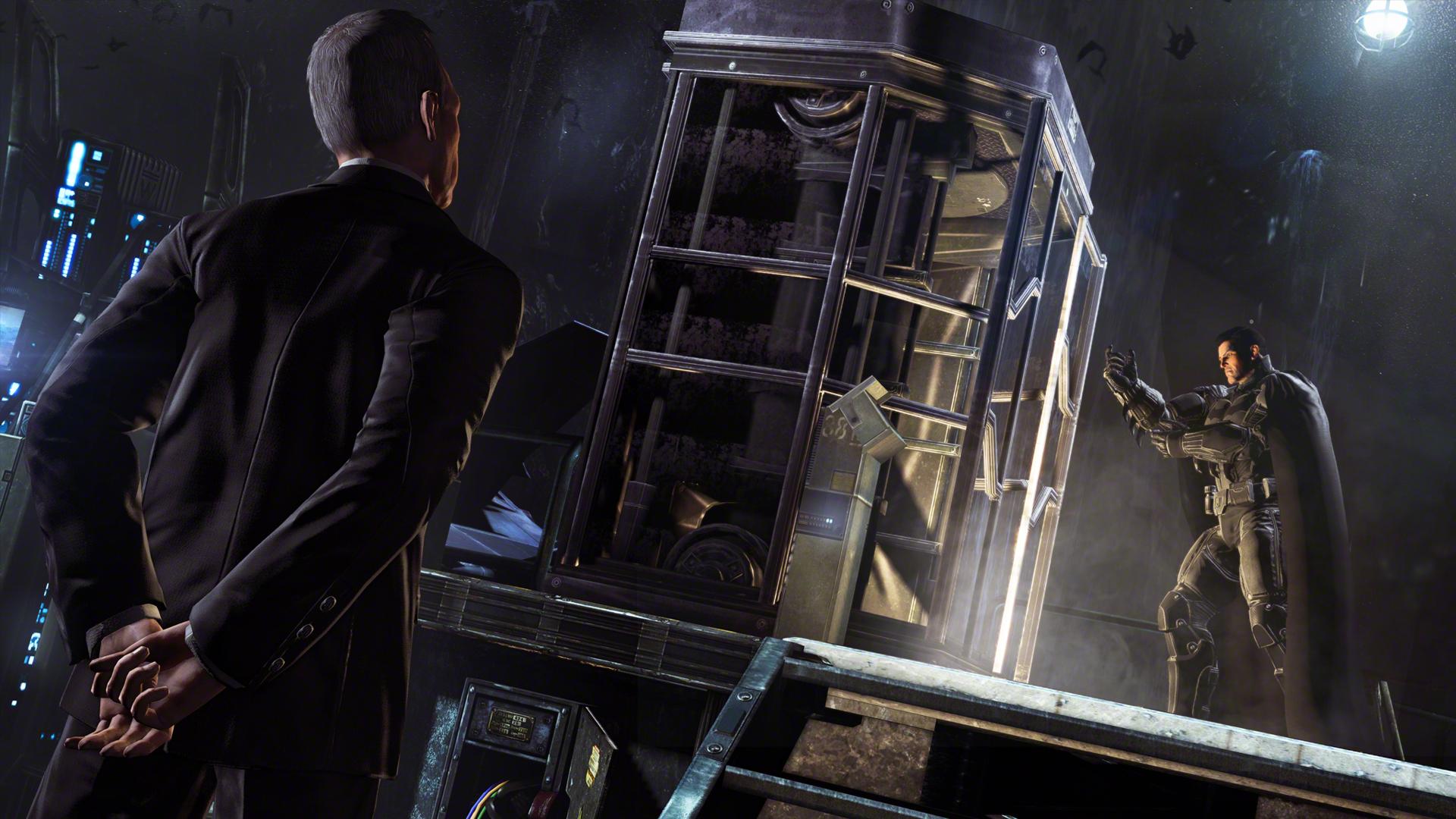 Obrazem: Batcave a Mad Hatter v Batman: Arkham Origins 86281