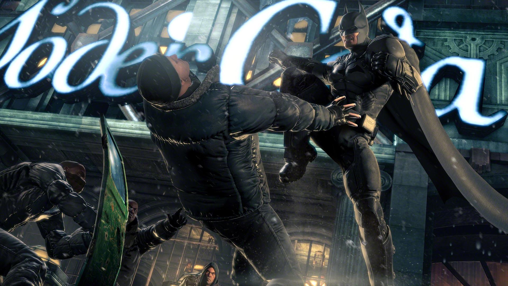 Obrazem: Batcave a Mad Hatter v Batman: Arkham Origins 86284