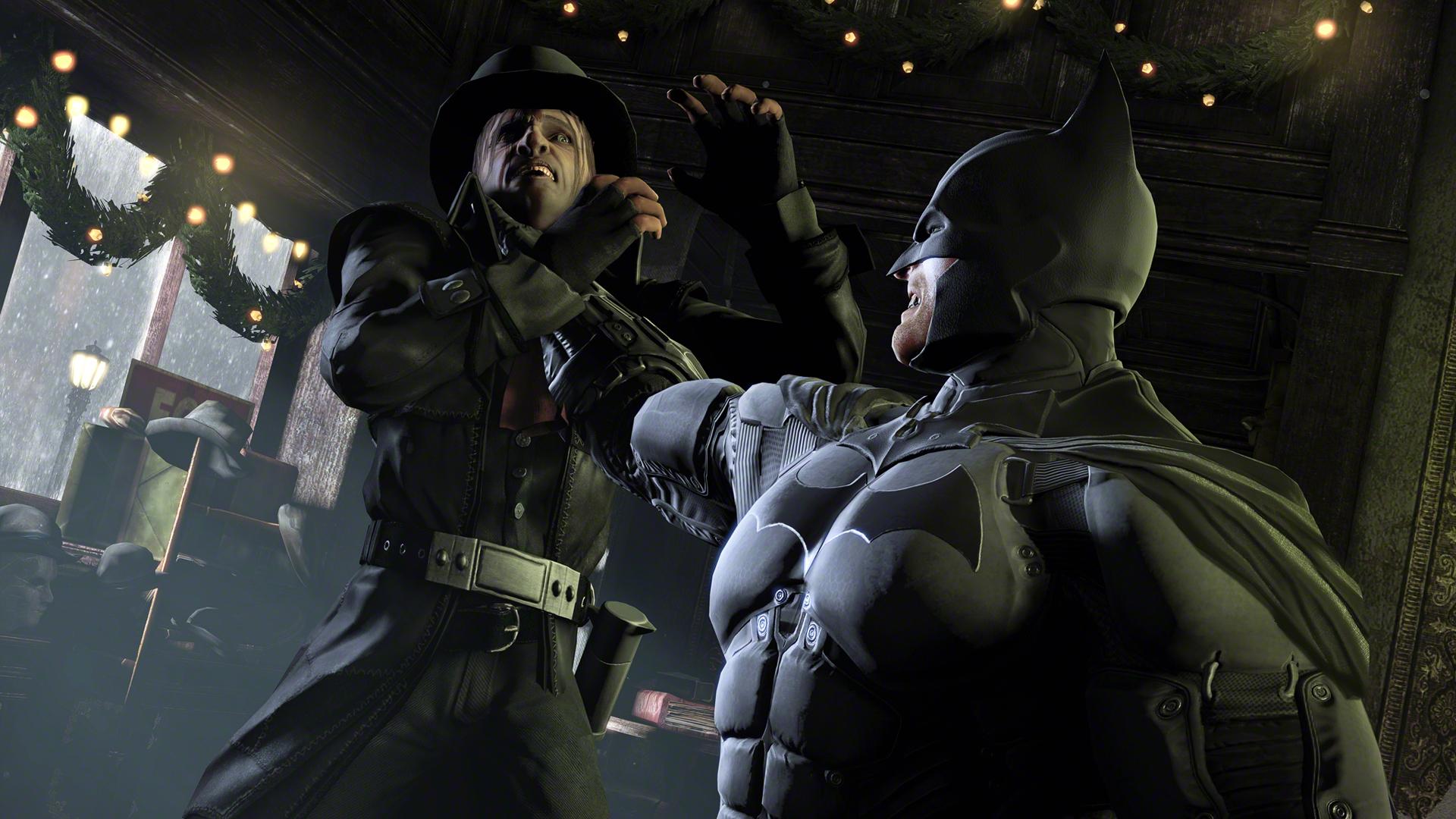 Obrazem: Batcave a Mad Hatter v Batman: Arkham Origins 86285