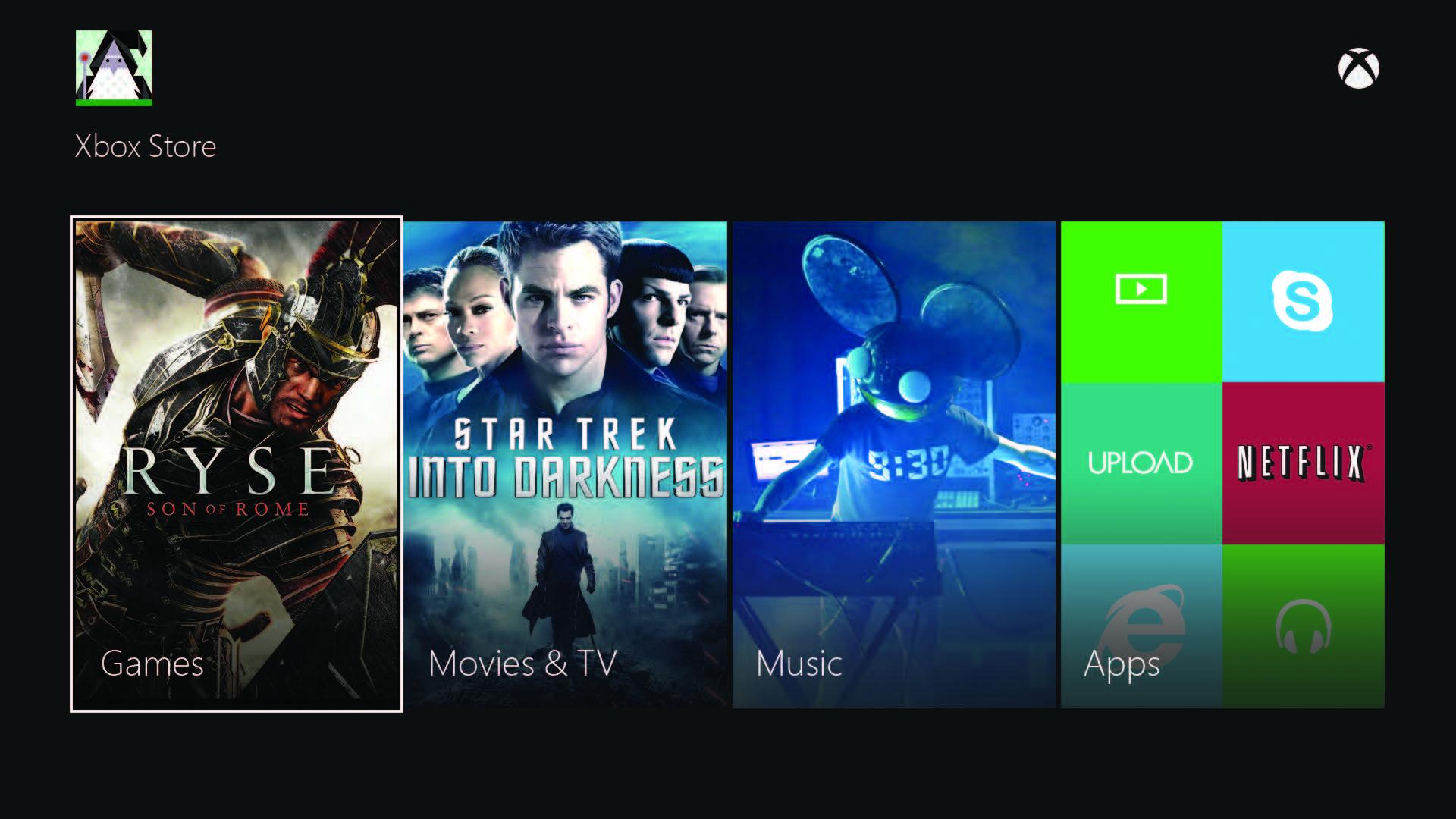 Další obrázky uživatelského rozhraní Xbox One 86355