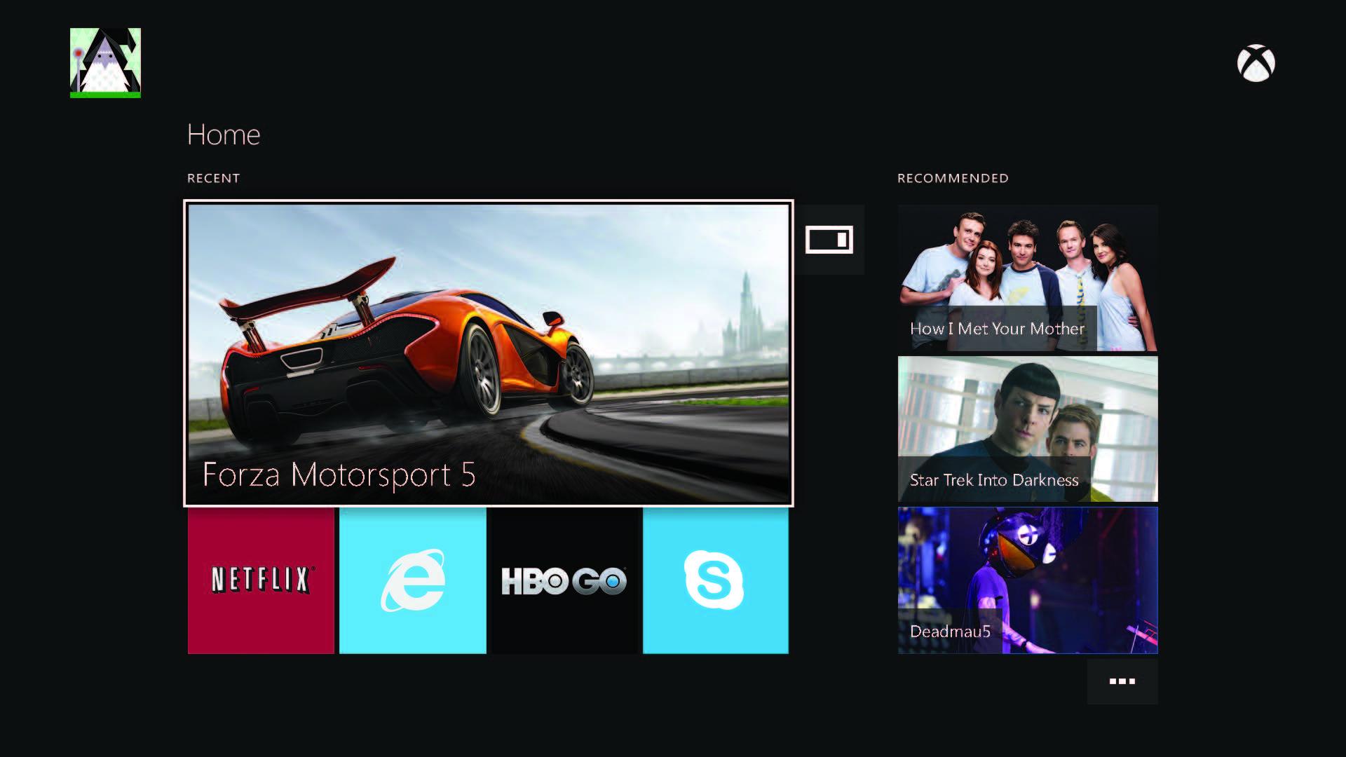 Další obrázky uživatelského rozhraní Xbox One 86356