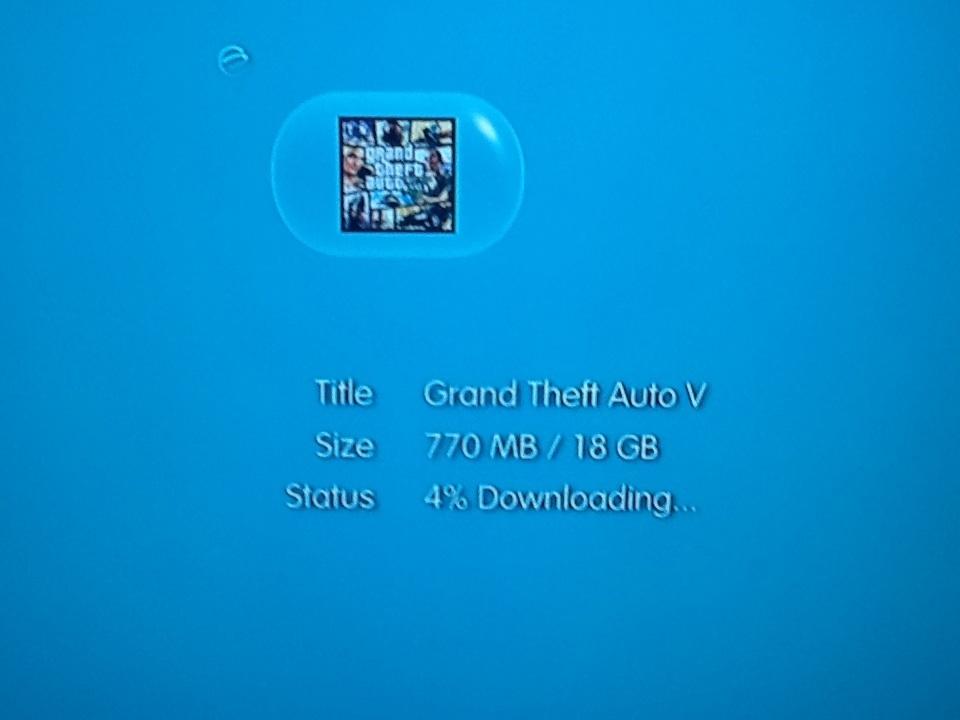 Na PSN bylo předčasně ke stažení Grand Theft Auto V 86683