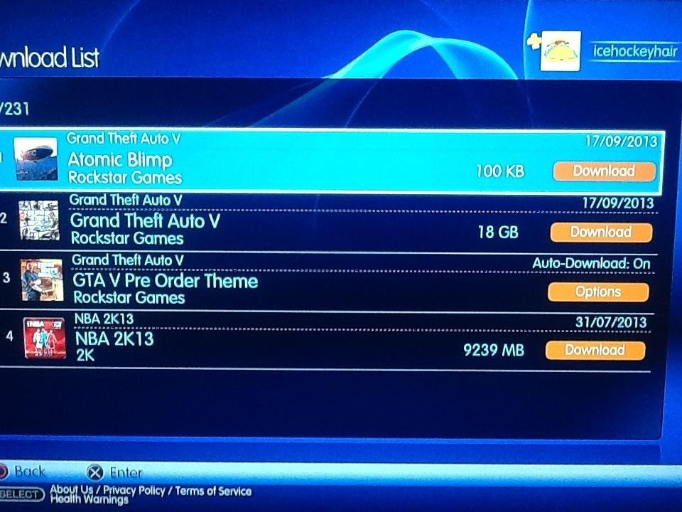 Na PSN bylo předčasně ke stažení Grand Theft Auto V 86685