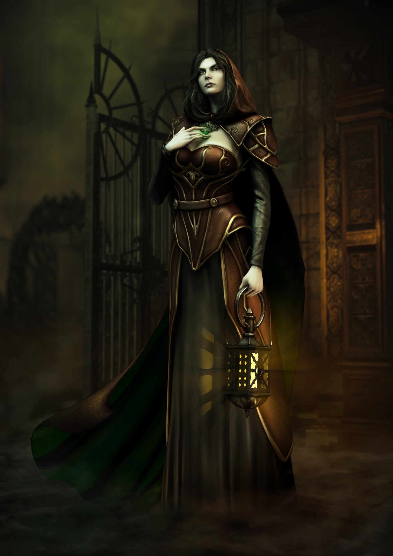 Tajemně krásné artworky z Castlevania: Lords of Shadow 2 86788