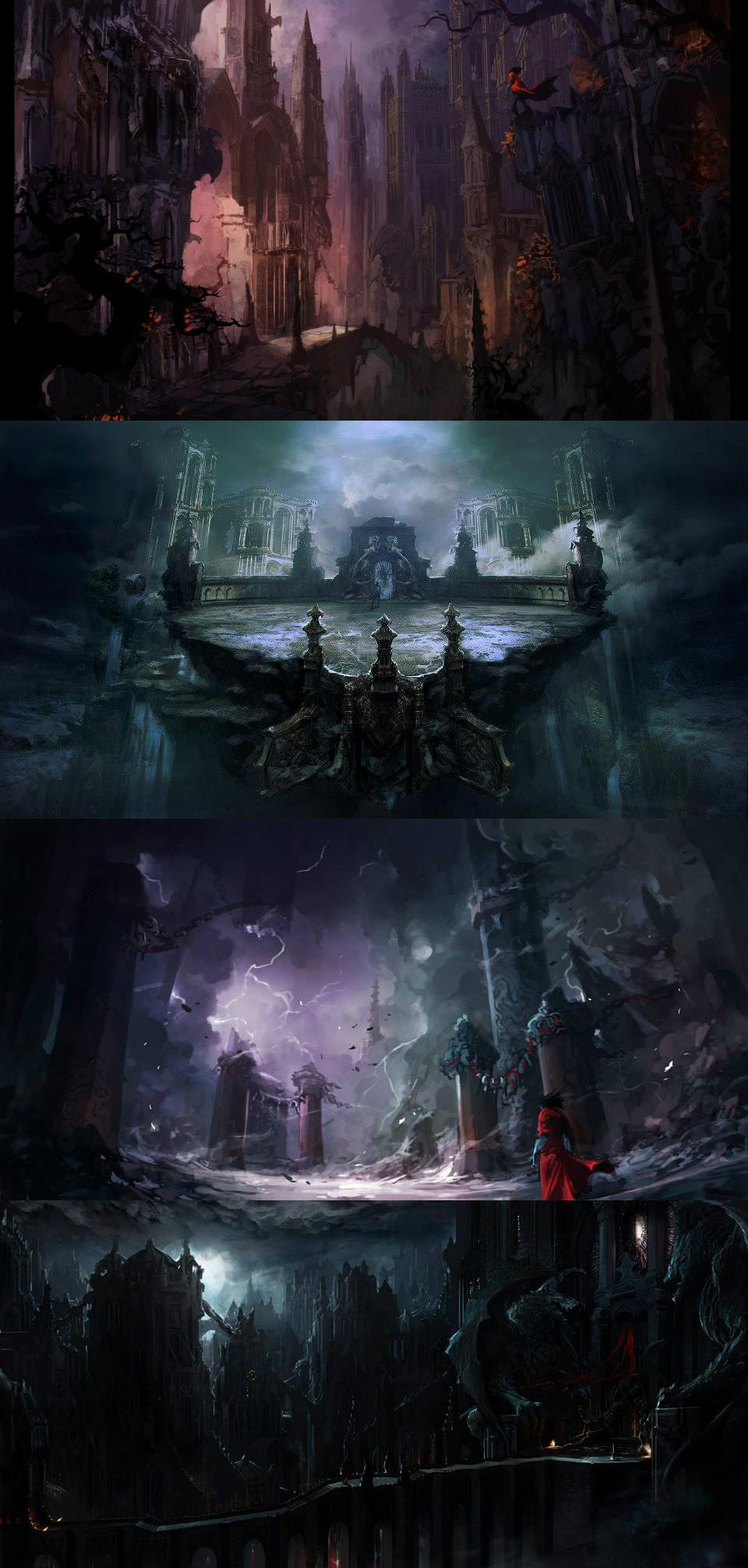 Tajemně krásné artworky z Castlevania: Lords of Shadow 2 86791