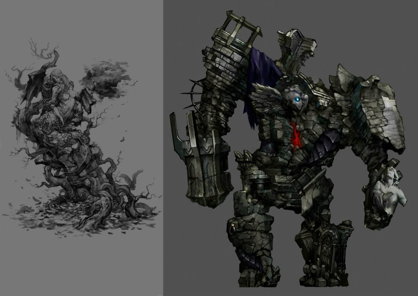 Tajemně krásné artworky z Castlevania: Lords of Shadow 2 86792