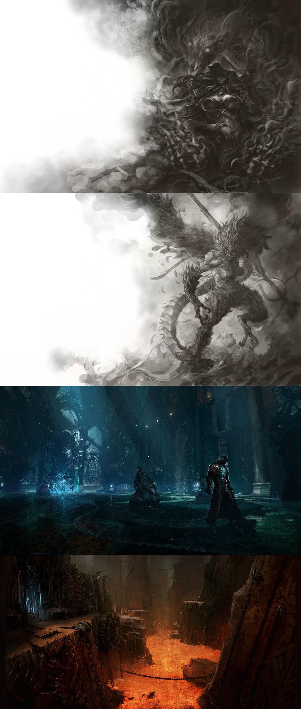 Tajemně krásné artworky z Castlevania: Lords of Shadow 2 86793