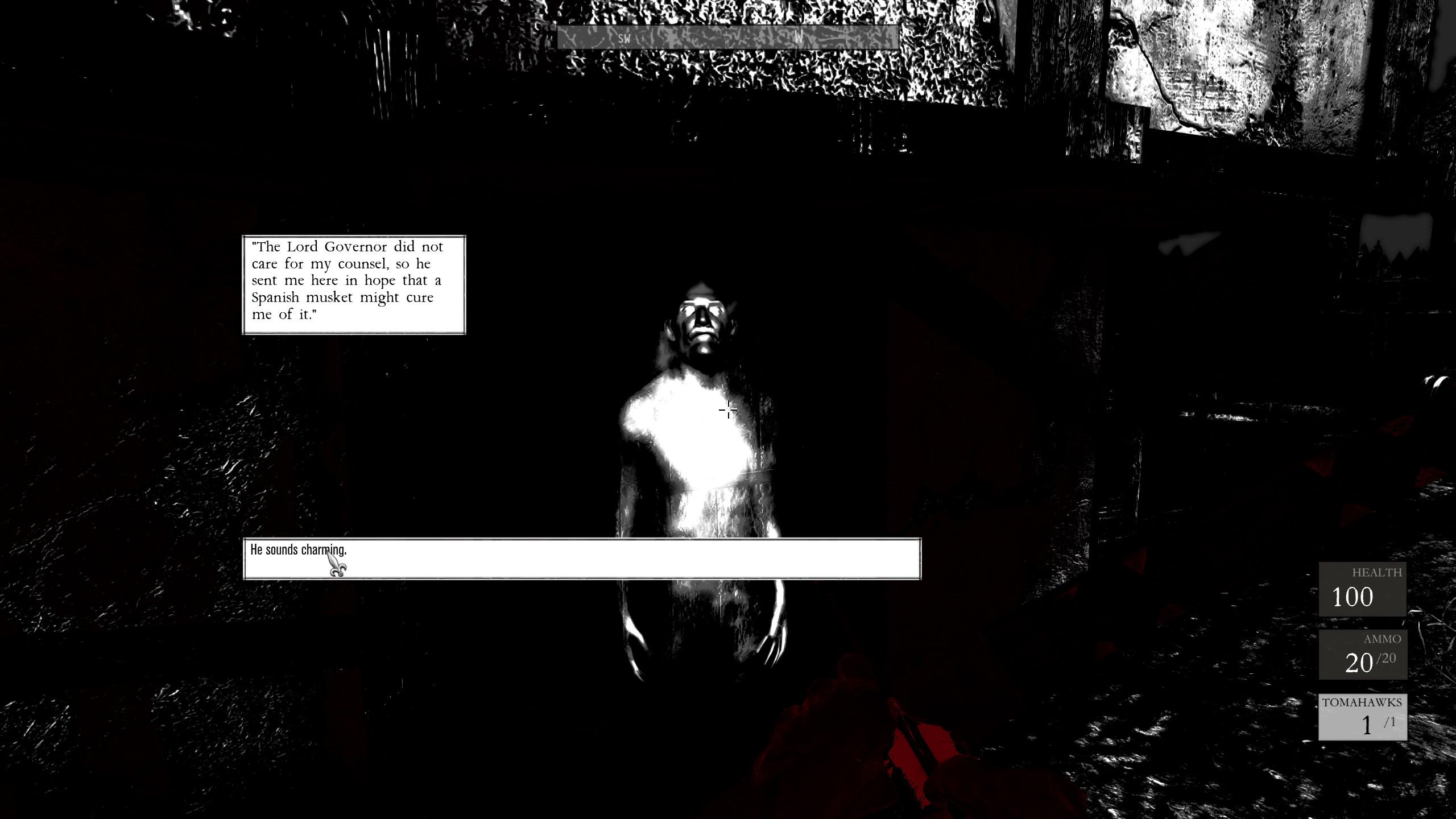 Dojmy z hraní černobílého Betrayer 86993