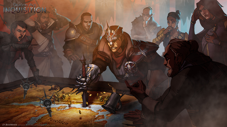 Dodatečně obrázky a artworky z Dragon Age: Inquisition 86998