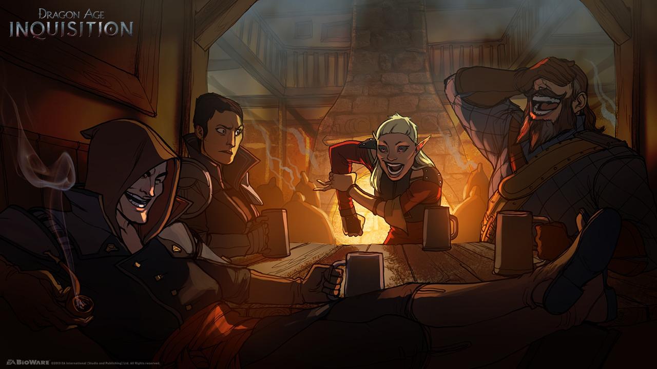 Dodatečně obrázky a artworky z Dragon Age: Inquisition 87002