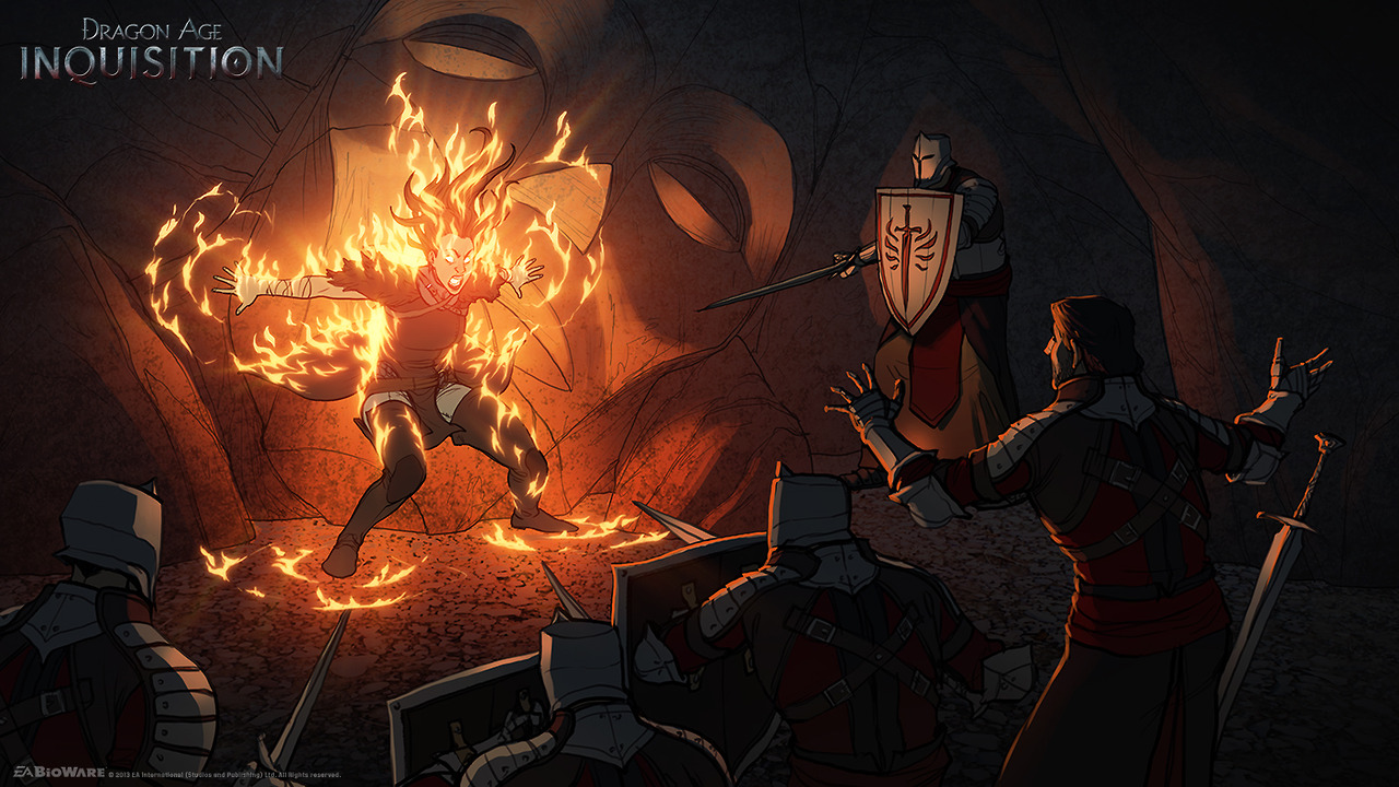 Dodatečně obrázky a artworky z Dragon Age: Inquisition 87006
