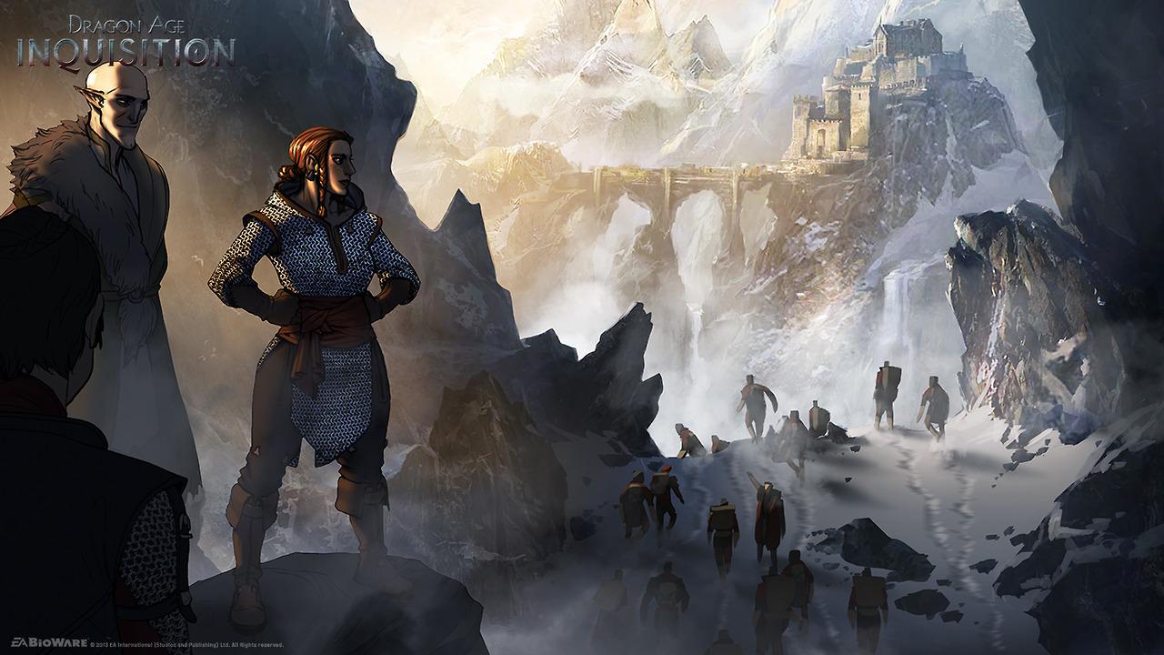 Dodatečně obrázky a artworky z Dragon Age: Inquisition 87009