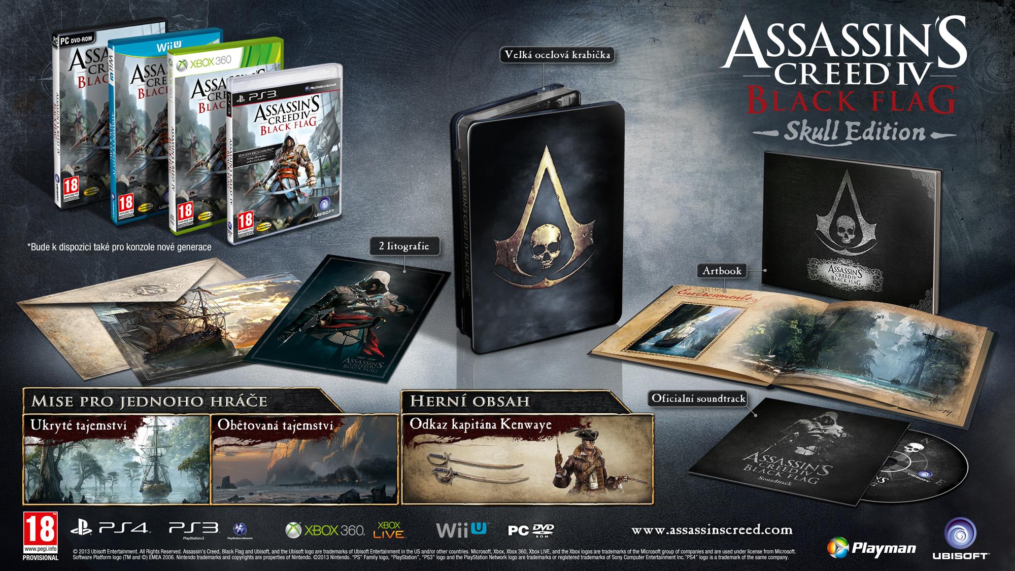 Odhalujeme podobu trička k Assassin's Creed 4: Black Flag 87095