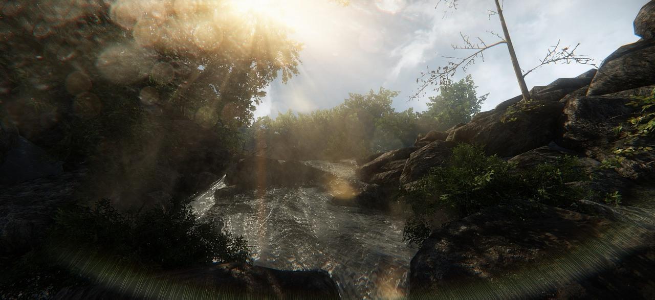 Nové efekty ve hrách předvádí členové CryDev 87121