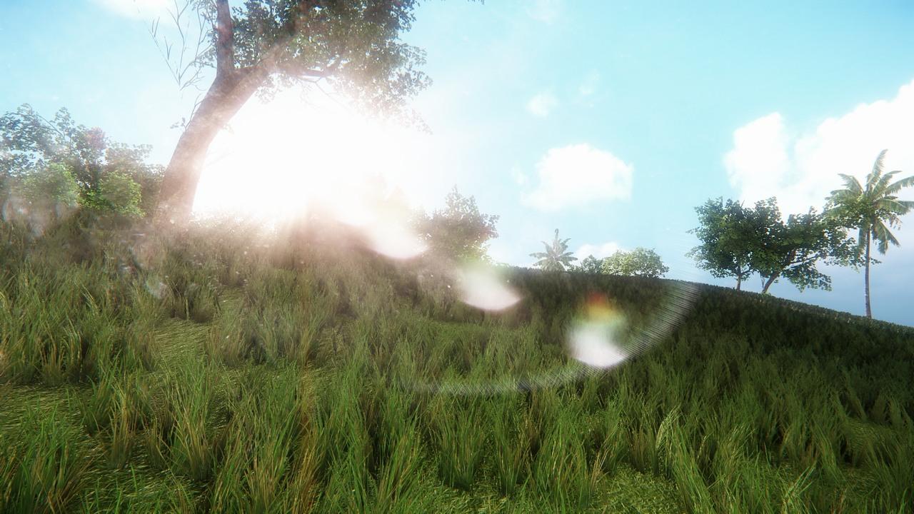 Nové efekty ve hrách předvádí členové CryDev 87123