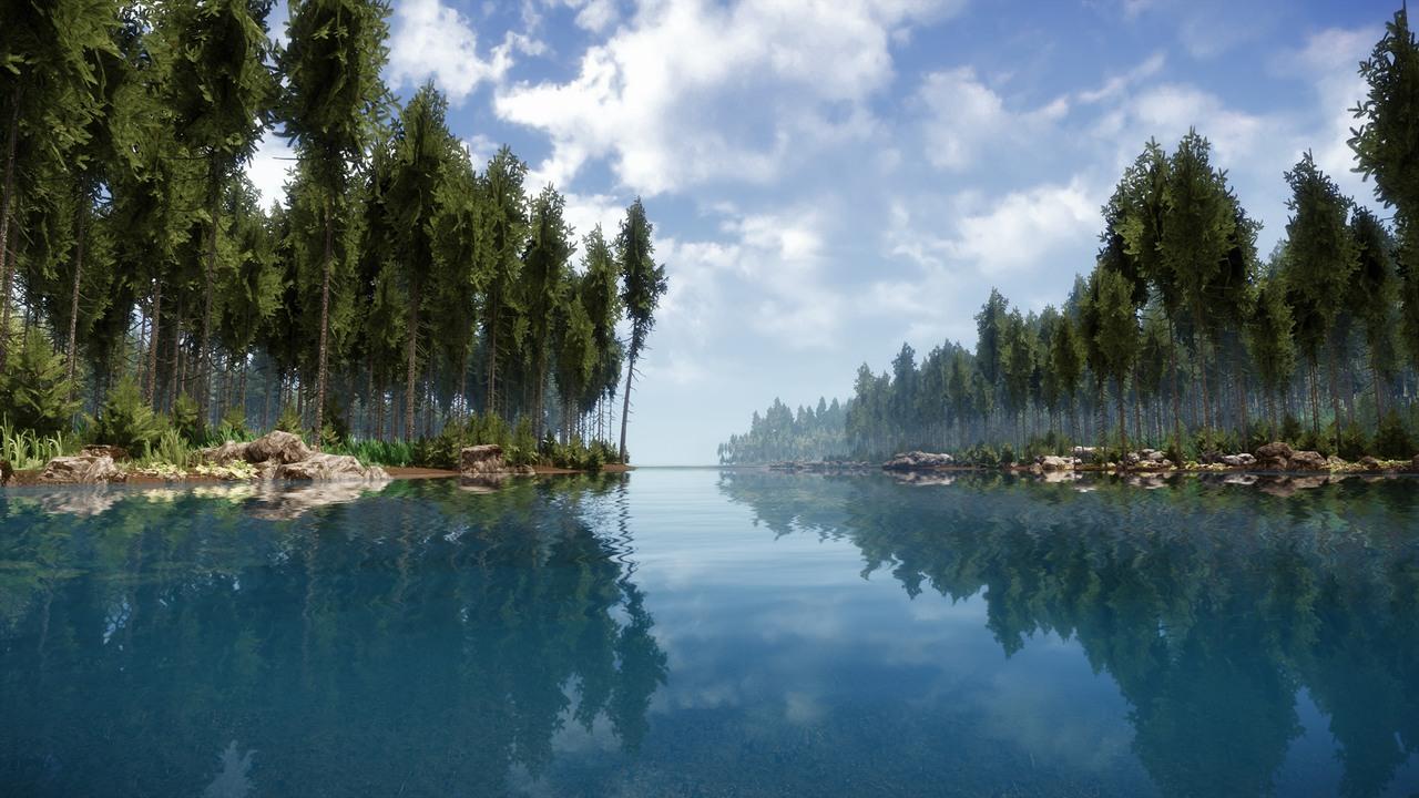 Nové efekty ve hrách předvádí členové CryDev 87132