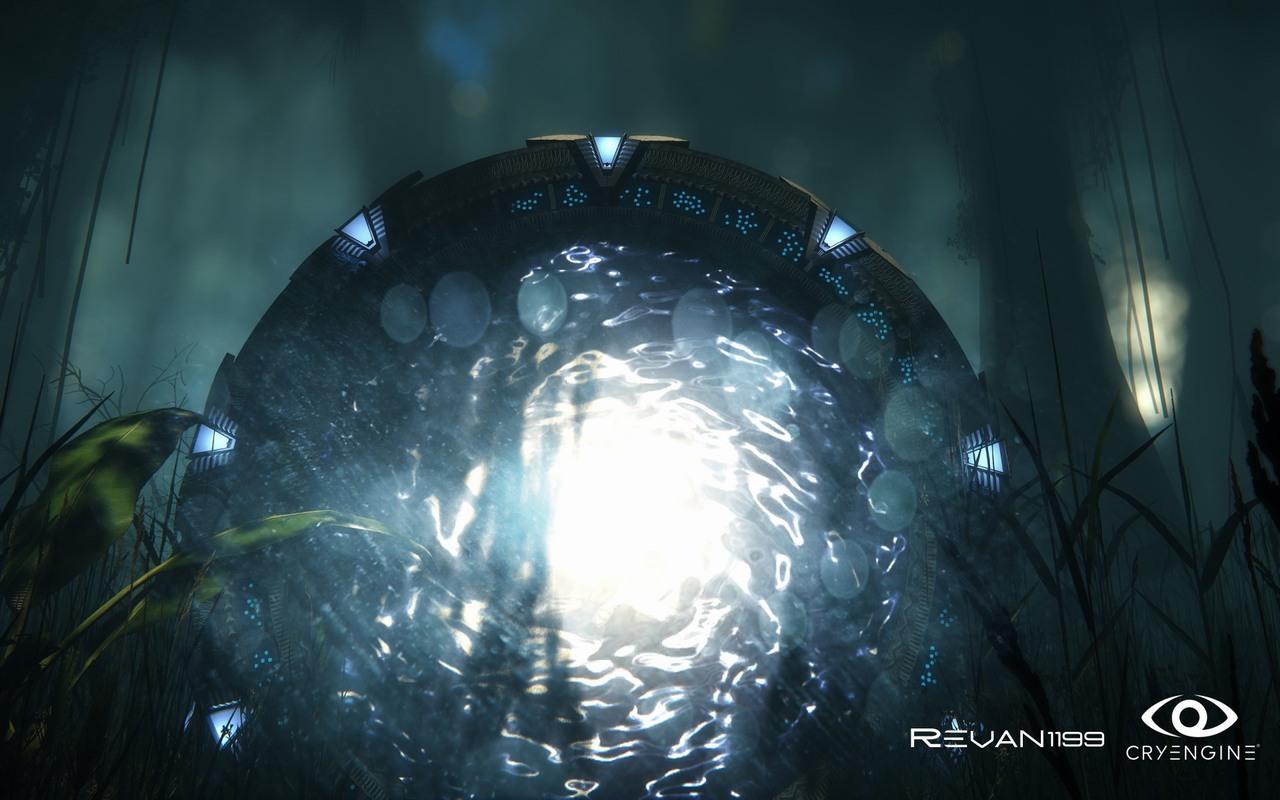 Nové efekty ve hrách předvádí členové CryDev 87136