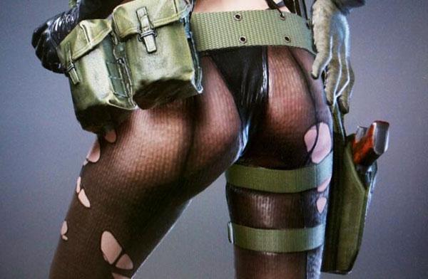 Postavy v Metal Gear Solid V budou více erotické 87311