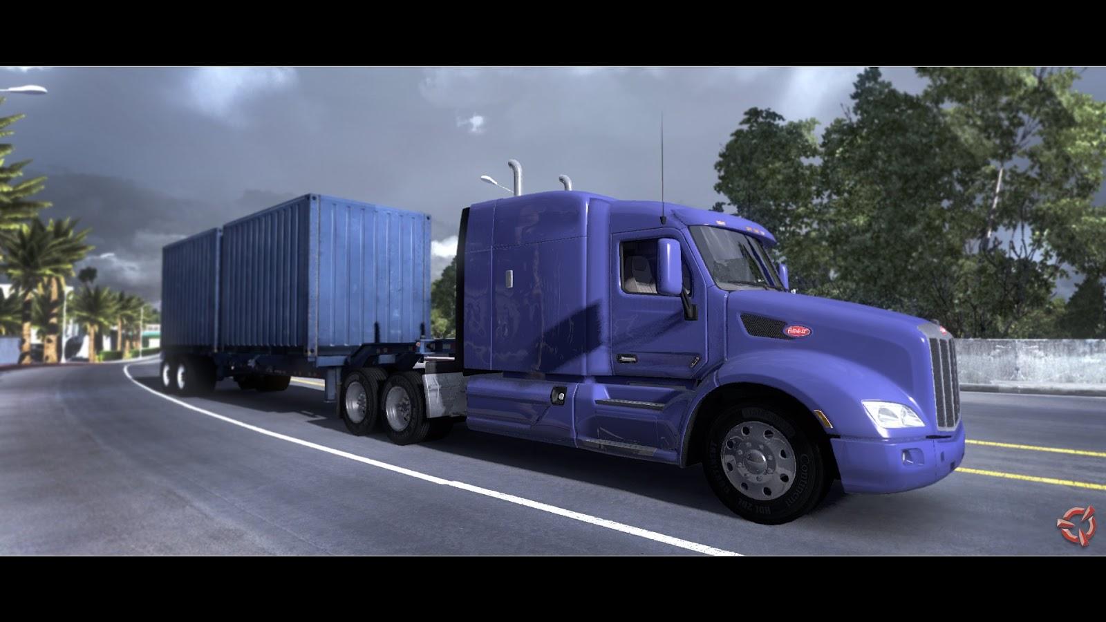 Obrazem: Rozpracovaný American Truck Simulátor 87364