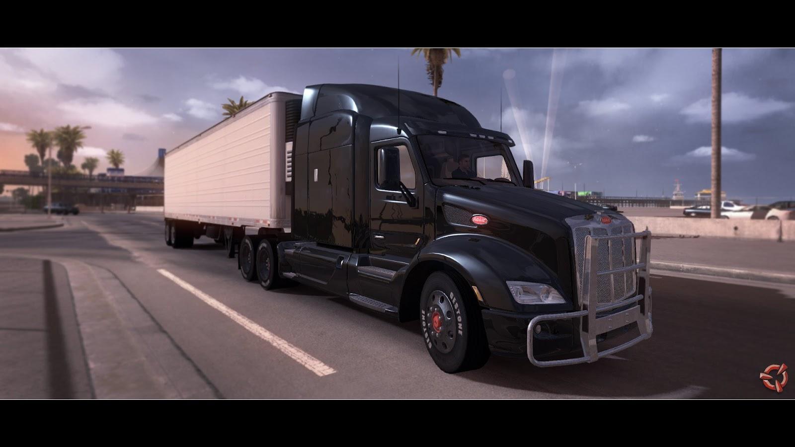 Obrazem: Rozpracovaný American Truck Simulátor 87365