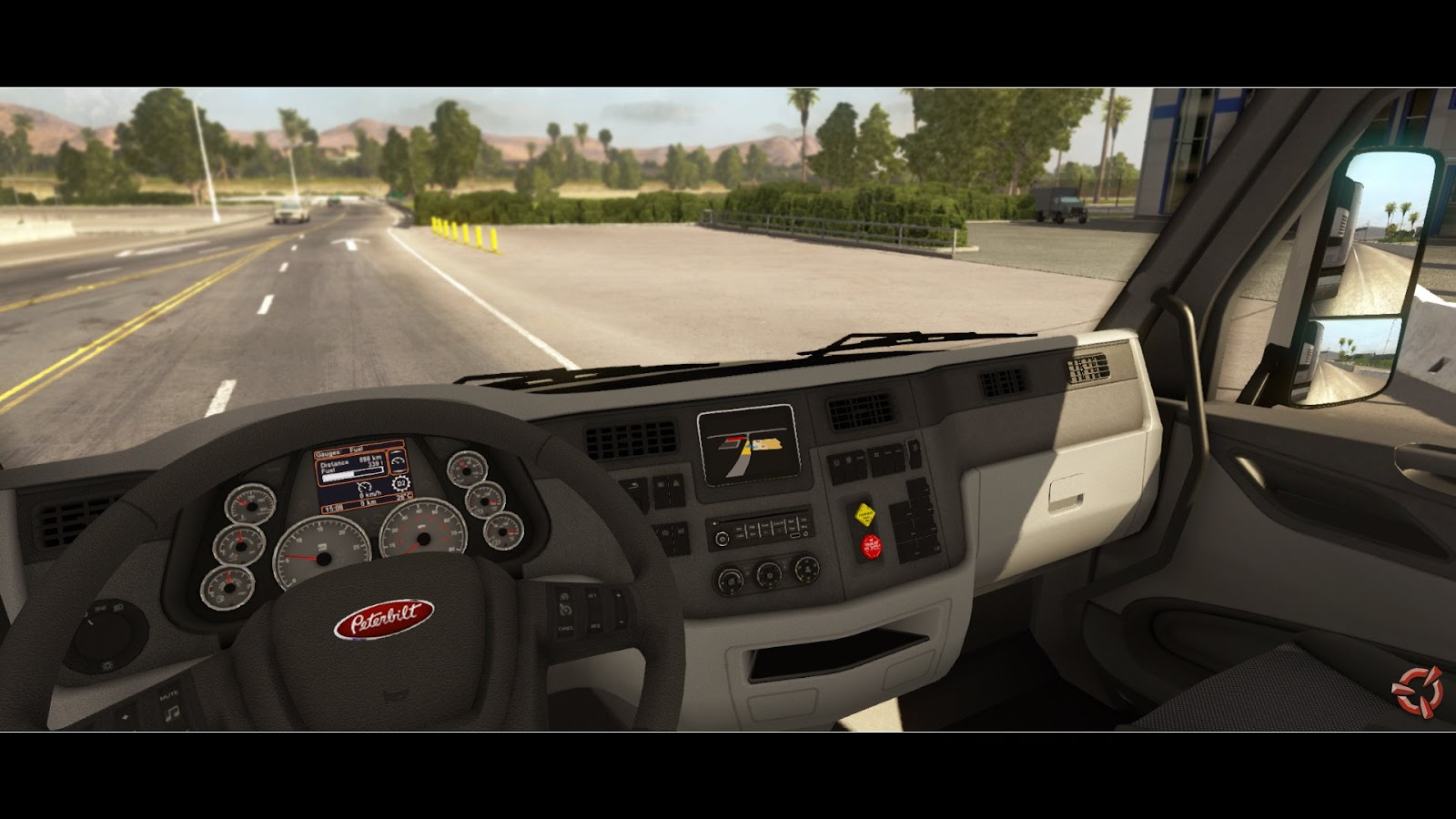 Obrazem: Rozpracovaný American Truck Simulátor 87369