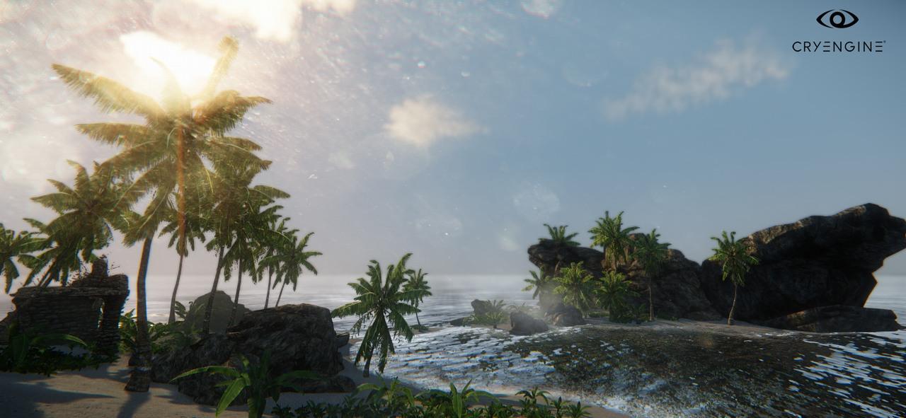Další obrázky ukazují Lens Flares efekty z CryEngine 3 87438