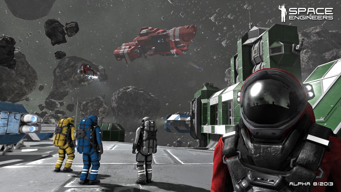 V české hře Space Engineers se stanete astronautem ve vesmíru 87458
