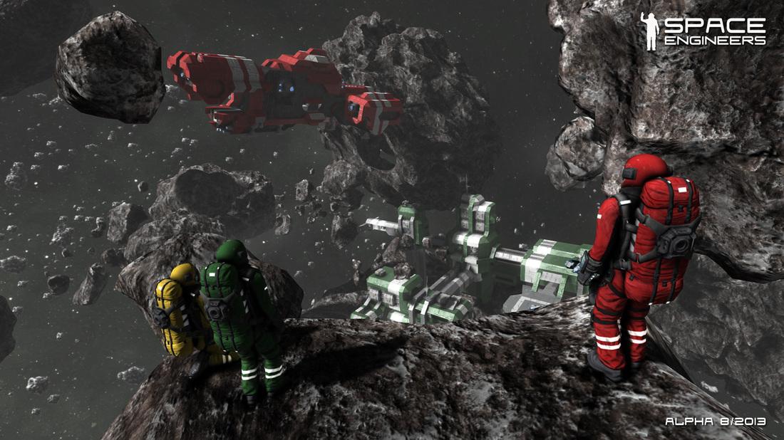 V české hře Space Engineers se stanete astronautem ve vesmíru 87462