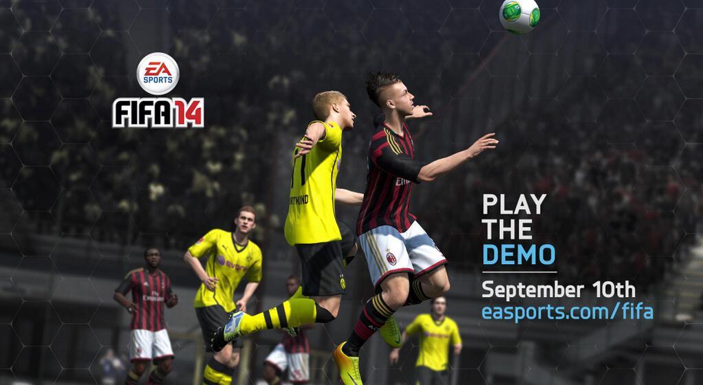 Vychází demo FIFA 14 87482