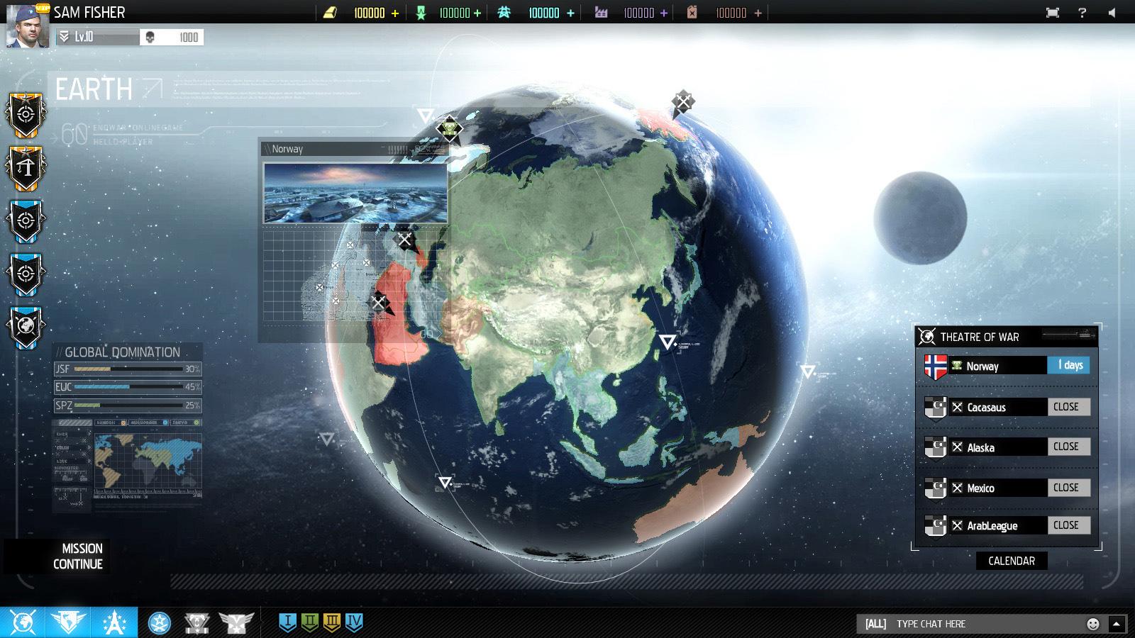 V prohlížeči si budete moci zdarma zahrát EndWar Online 87491