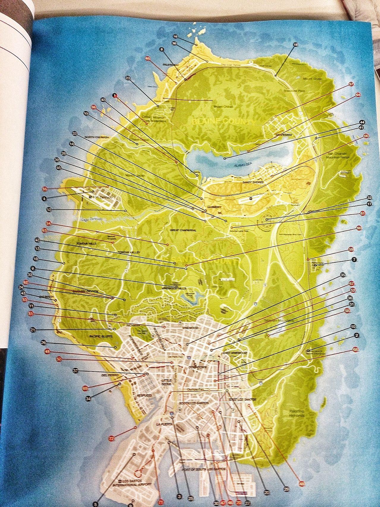 Prohlédněte si kompletní mapu GTA V 87517