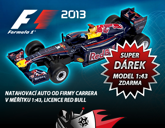 Ke všem předobjednávkám F1 rozdáváme formulku zdarma 87599