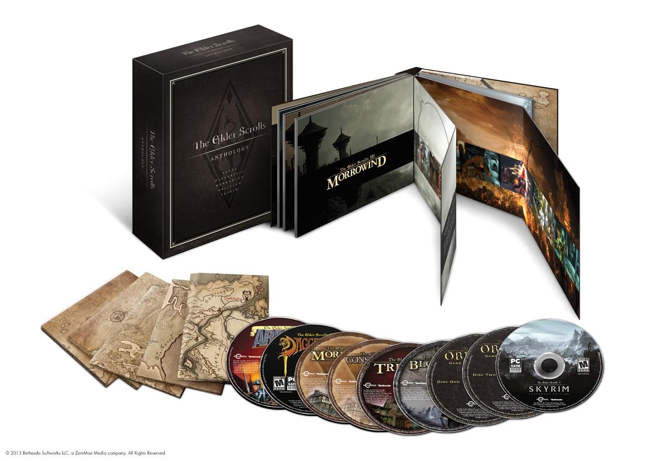 Prohlédněte si kompletní sbírku série Elder Scrolls 87768