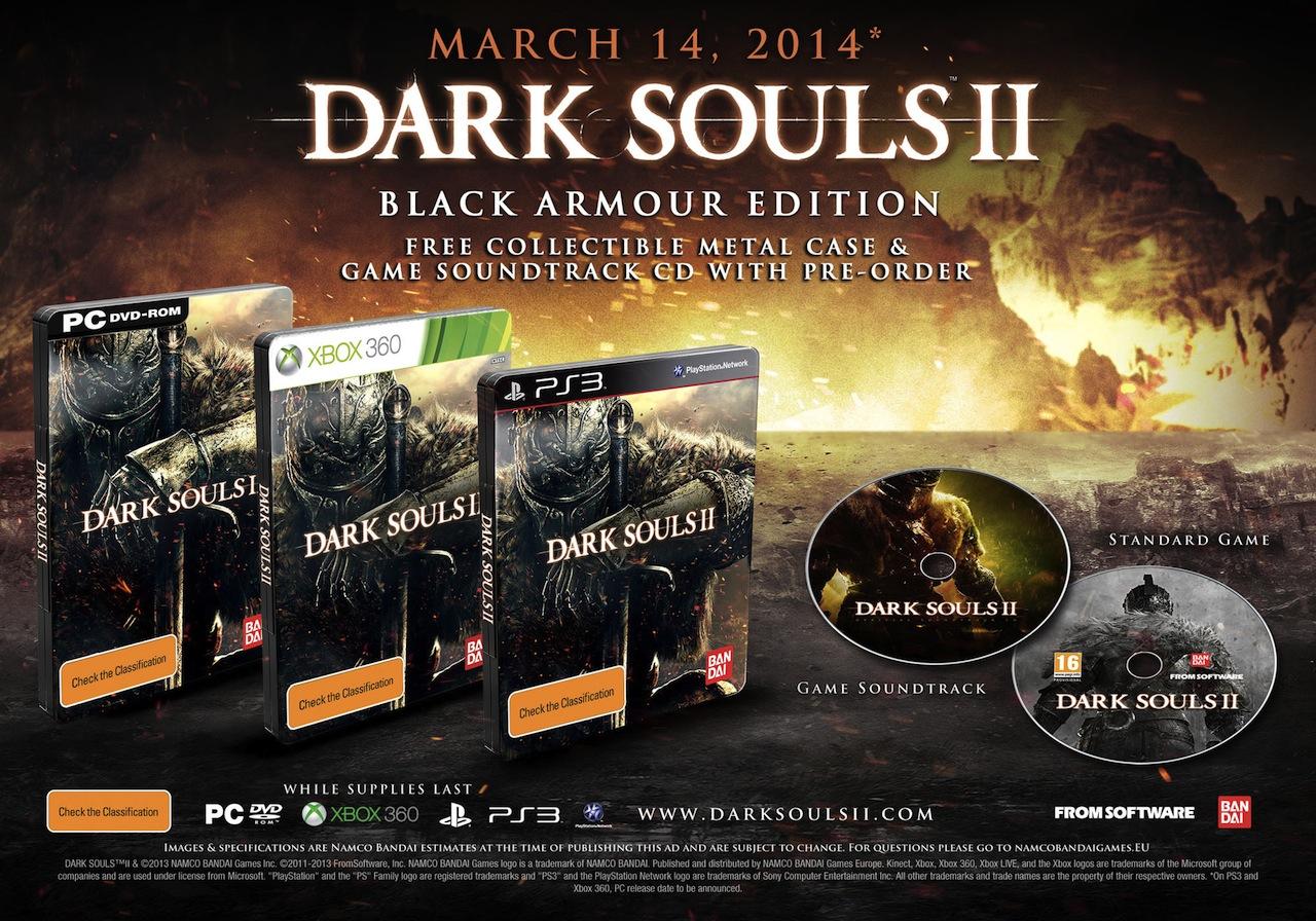 Ztenčují se zásoby speciálních edic Dark Souls 2 87993