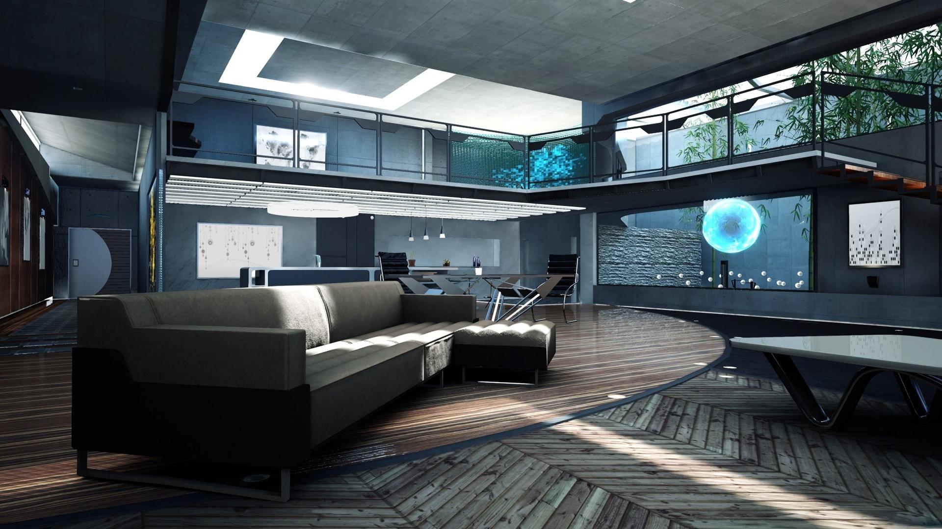 Obrazem: Moderní obývák v Deep Down 88043