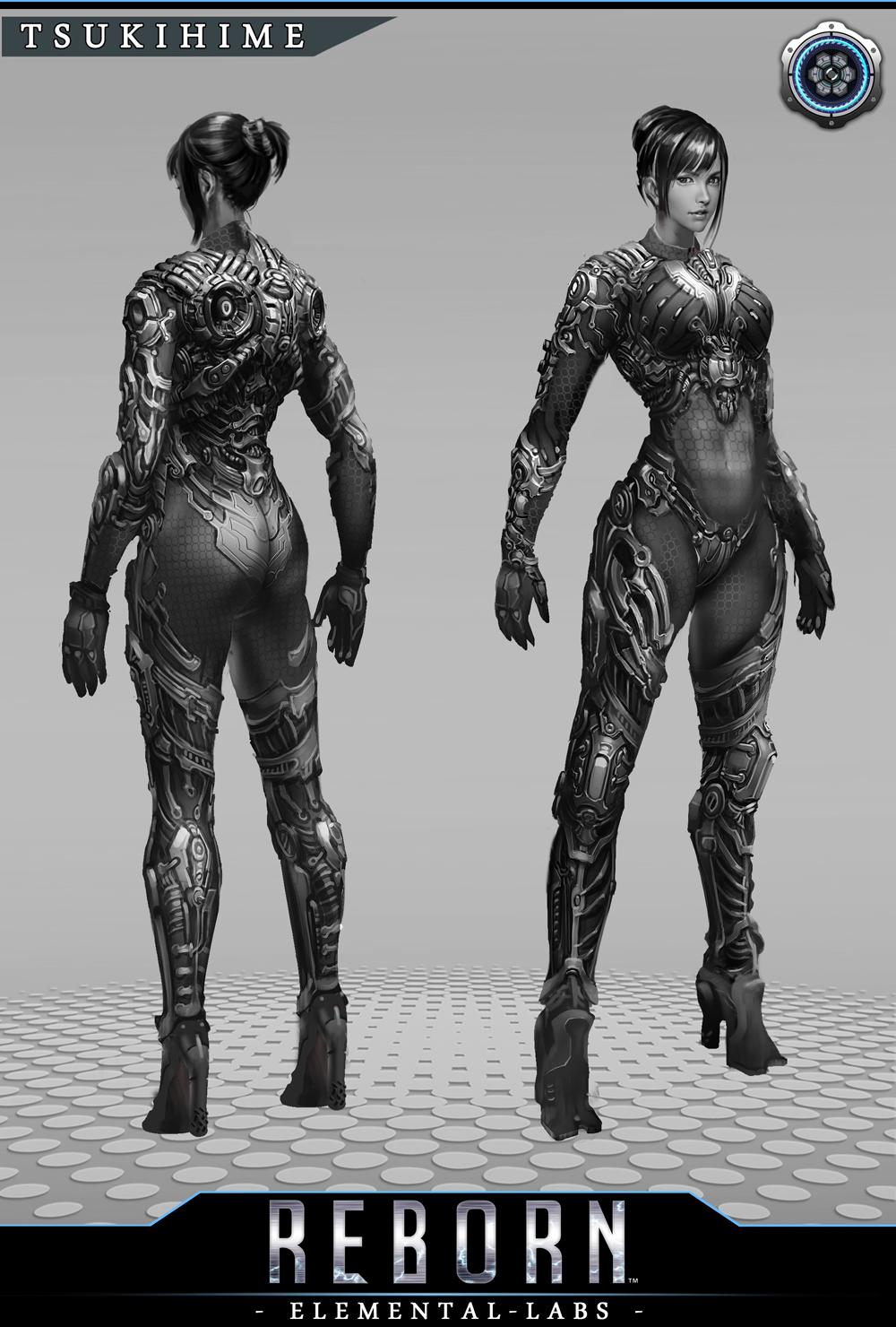 Na Kickstarteru se bude snažit uspět akční RPG Reborn připomínají Deus Ex 88051