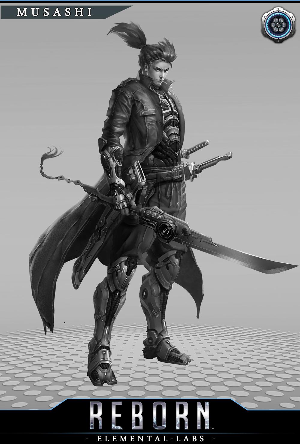 Na Kickstarteru se bude snažit uspět akční RPG Reborn připomínají Deus Ex 88052