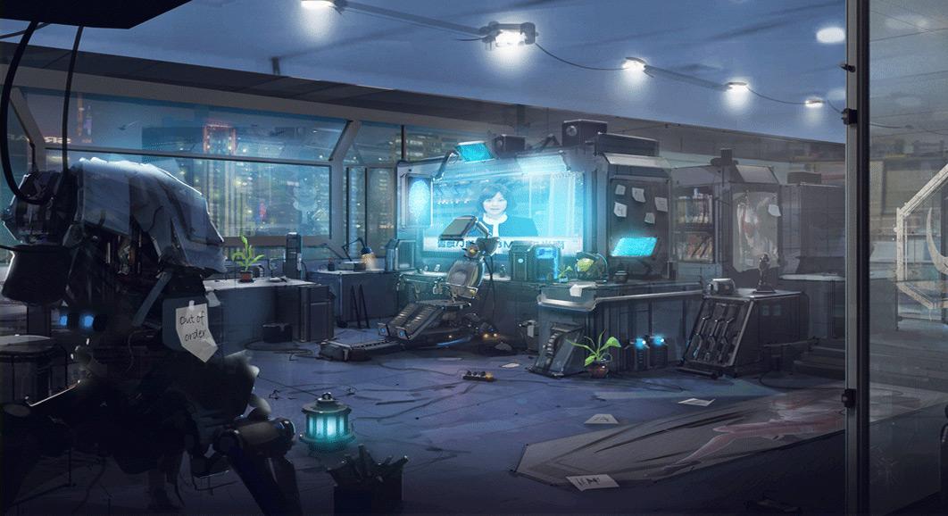Na Kickstarteru se bude snažit uspět akční RPG Reborn připomínají Deus Ex 88062