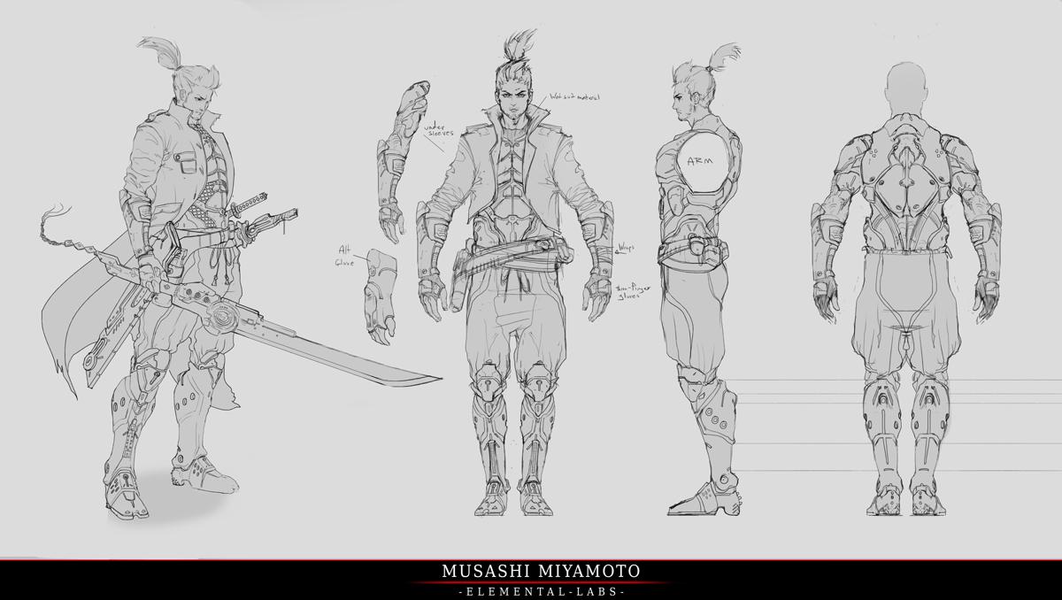 Na Kickstarteru se bude snažit uspět akční RPG Reborn připomínají Deus Ex 88065