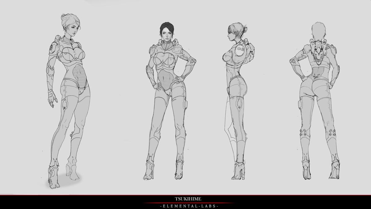 Na Kickstarteru se bude snažit uspět akční RPG Reborn připomínají Deus Ex 88066