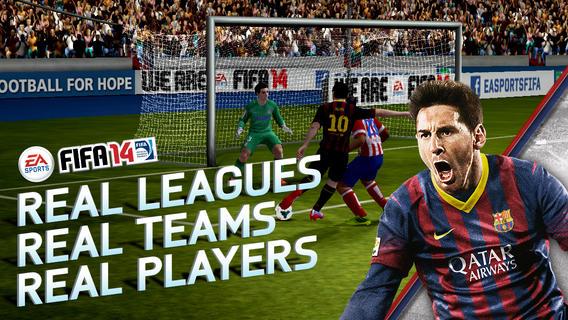 FIFA 14 zdarma pro iOS a Android 88128