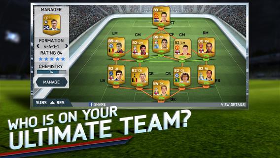 FIFA 14 zdarma pro iOS a Android 88129